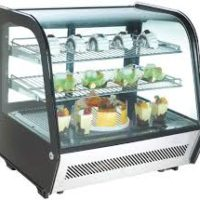 COUNTERTOP DISPLAY FRIDGE –  120 LTR