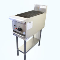 Gas Chargrill 300mm wide on stand