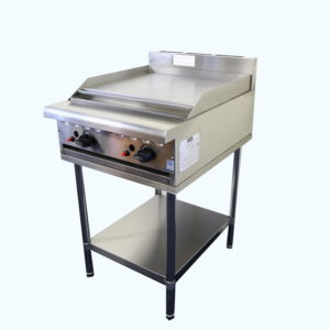 Gas Hotplate 600mm wide on stand