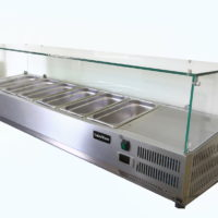 COUNTER TOP REFRIGERATED DISPLAY FRIDGE – 1800 LENGTH