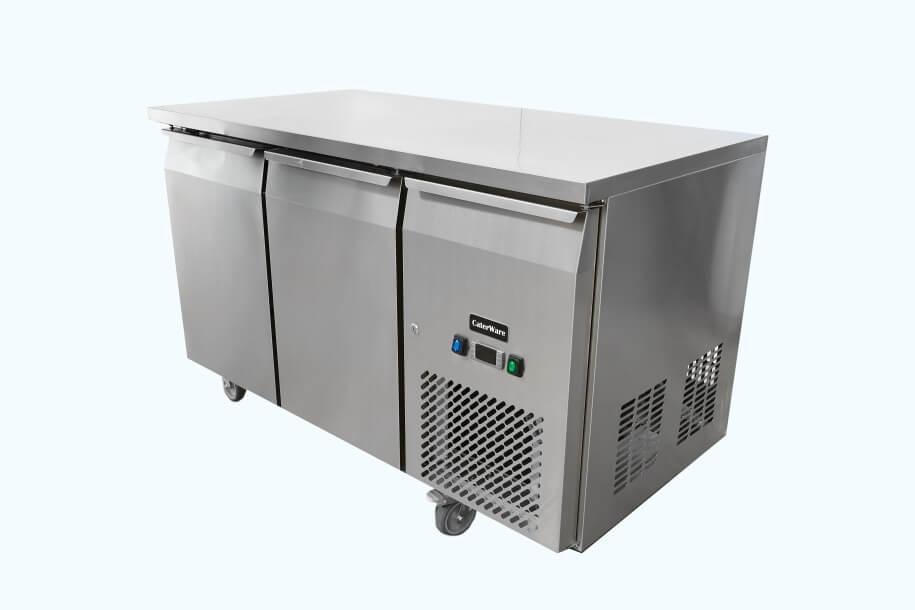 Commercial Kitchen Three Door Freezer