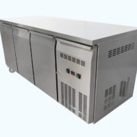 Three Door Under Bench Freezer on Castors