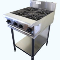 Four Burner Gas Cooktop on Stand