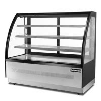 Caterware Freestanding Curved Glass Display Fridge(900 WIDE)