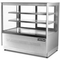 Caterware Free standing squared glass Display fridge (900 WIDE)